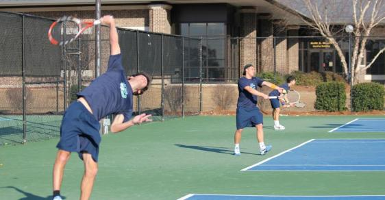 Powell Highlights Second Day of ITA Regionals for GC Men's Tennis