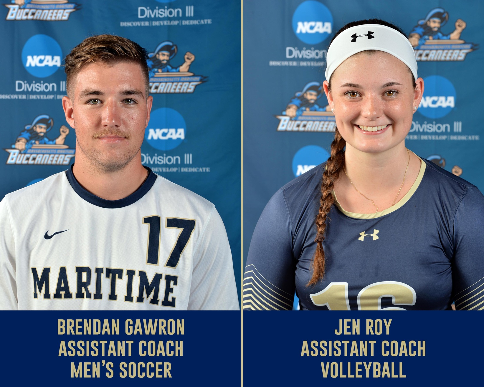 Pair of Maritime Alums Named to Coaching Staffs