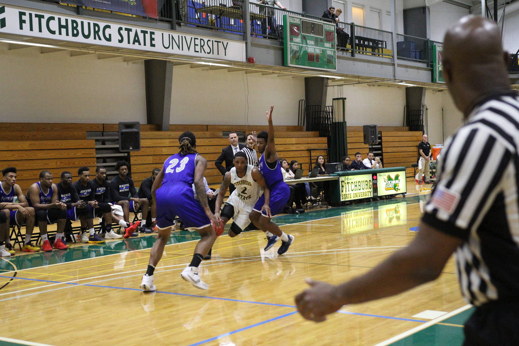 Fitchburg State Holds Off Salem State, 87-83