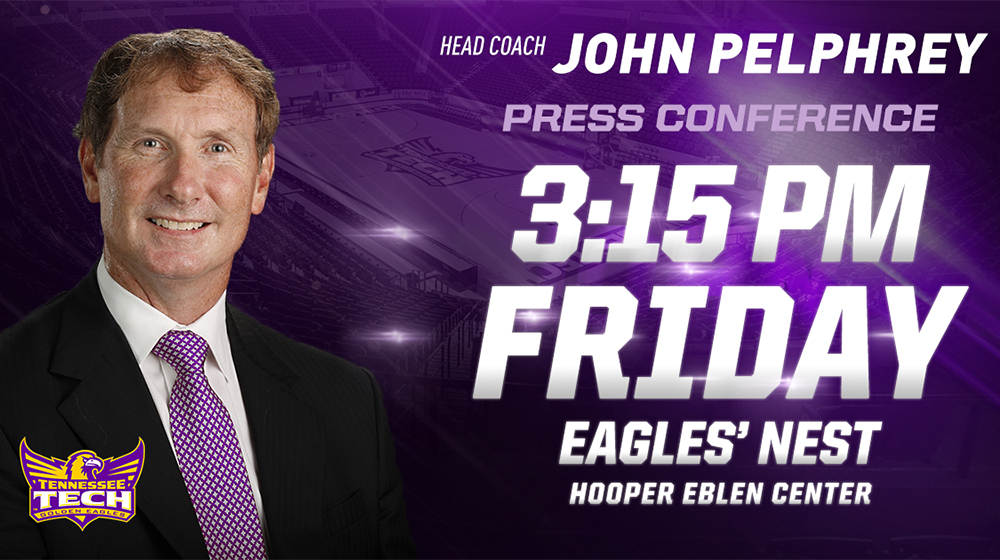 Tech Athletics to host introductory press conference for John Pelphrey Friday afternoon
