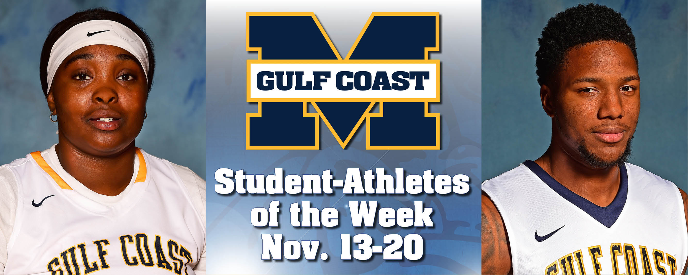 Williams, Parker named MGCCC Student-Athletes of the Week