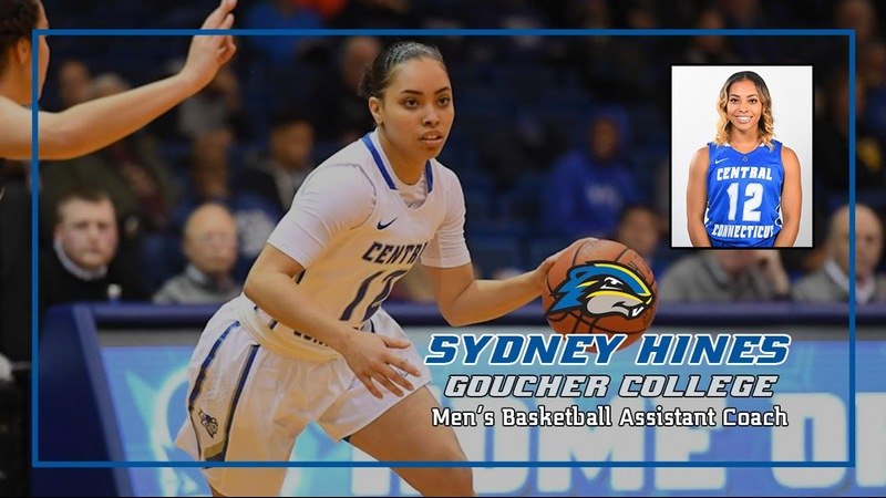 Former Women's Basketball Player Sydney Hines Joins Goucher College Men's Basketball Staff