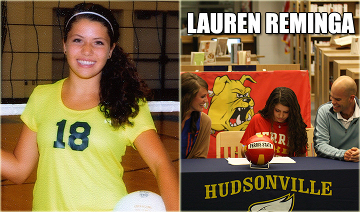 Volleyball Regional Champion Ferris State Inks West Michigan Standout Lauren Reminga