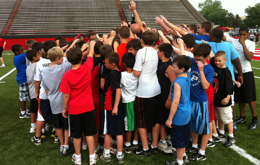YSU Football Youth Camp