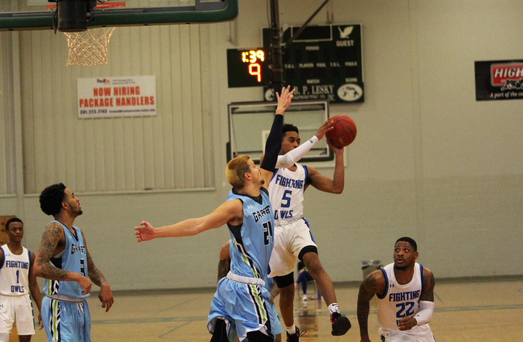 MDJUCO Men's Basketball Tournament: #3 Fighting Owls Sink #6 Lakers