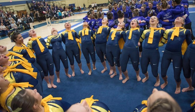 Gymnastics starts 2017 with strong showing at Central Michigan