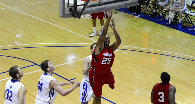 Lynchburg Men's Basketball Hold Tough in First Half, fall to Tigers 79-70