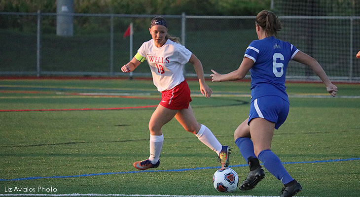 Berks Overwhelms Wells Women's Soccer