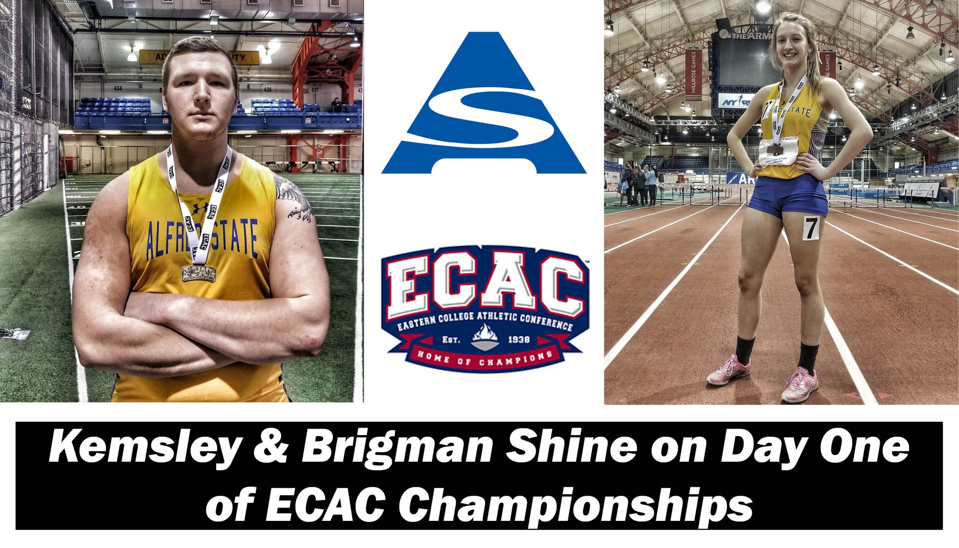 ECAC Track & Field Day 1 Recap