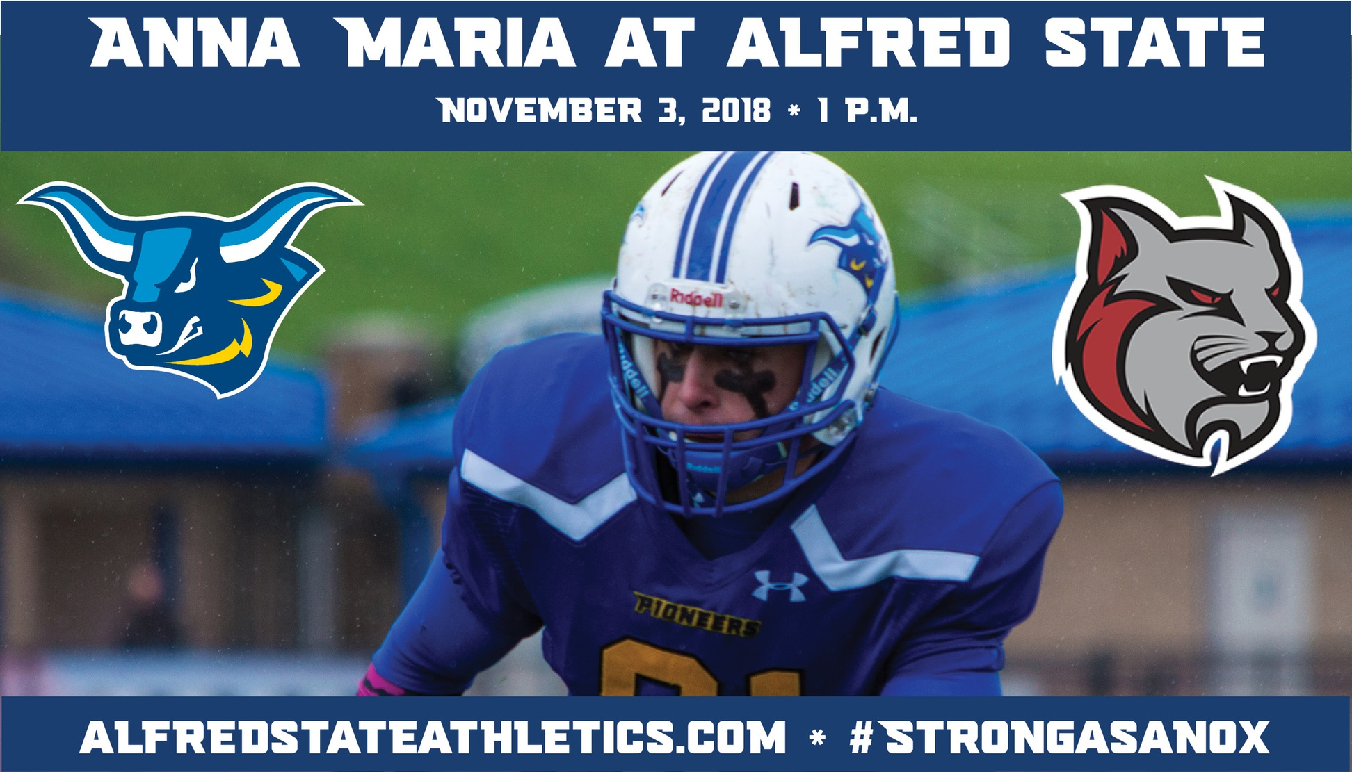 Alfred State takes on Anna Maria in their home finale