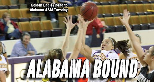 Golden Eagles travel to Alabama A&M
