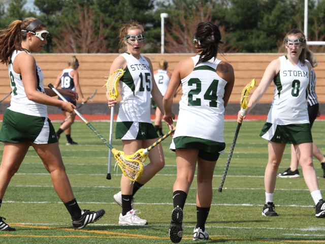 Big Run Leads Storm Women to Convincing 17-5 Win at Urbana