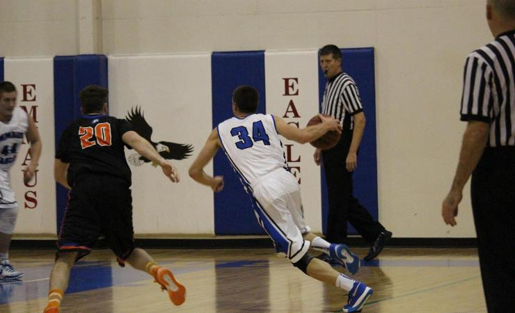 Eagles Lose Hard-Fought Battle to Crossroads