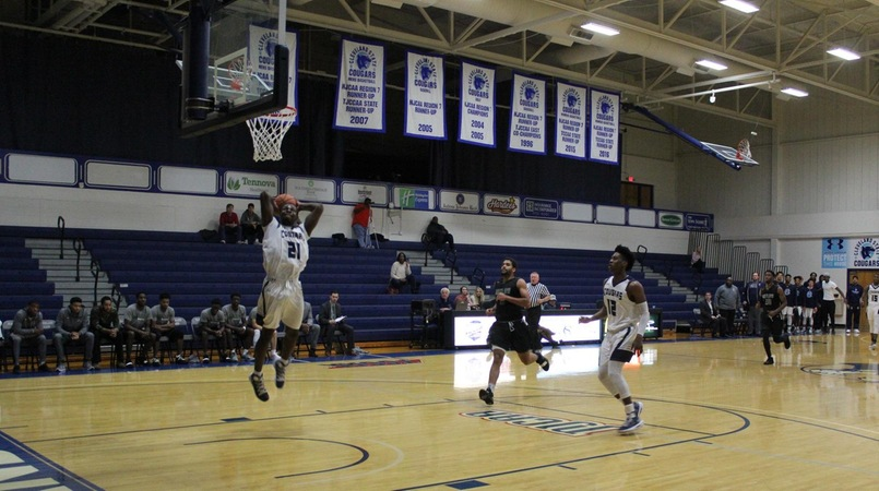 Cougars Defeated by Motlow State, 77-72