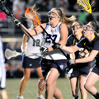 Lacrosse Smothers Smith to Even NEWMAC Mark