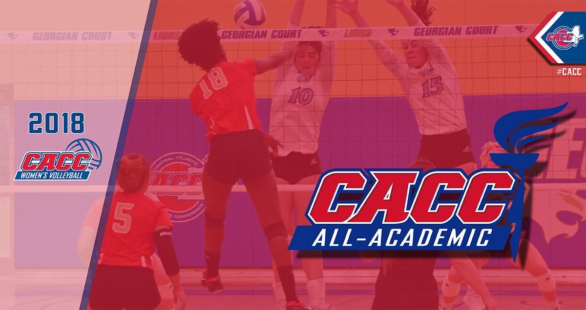 52 Student-Athletes Named to 2018 CACC Women's Volleyball All-Academic Team