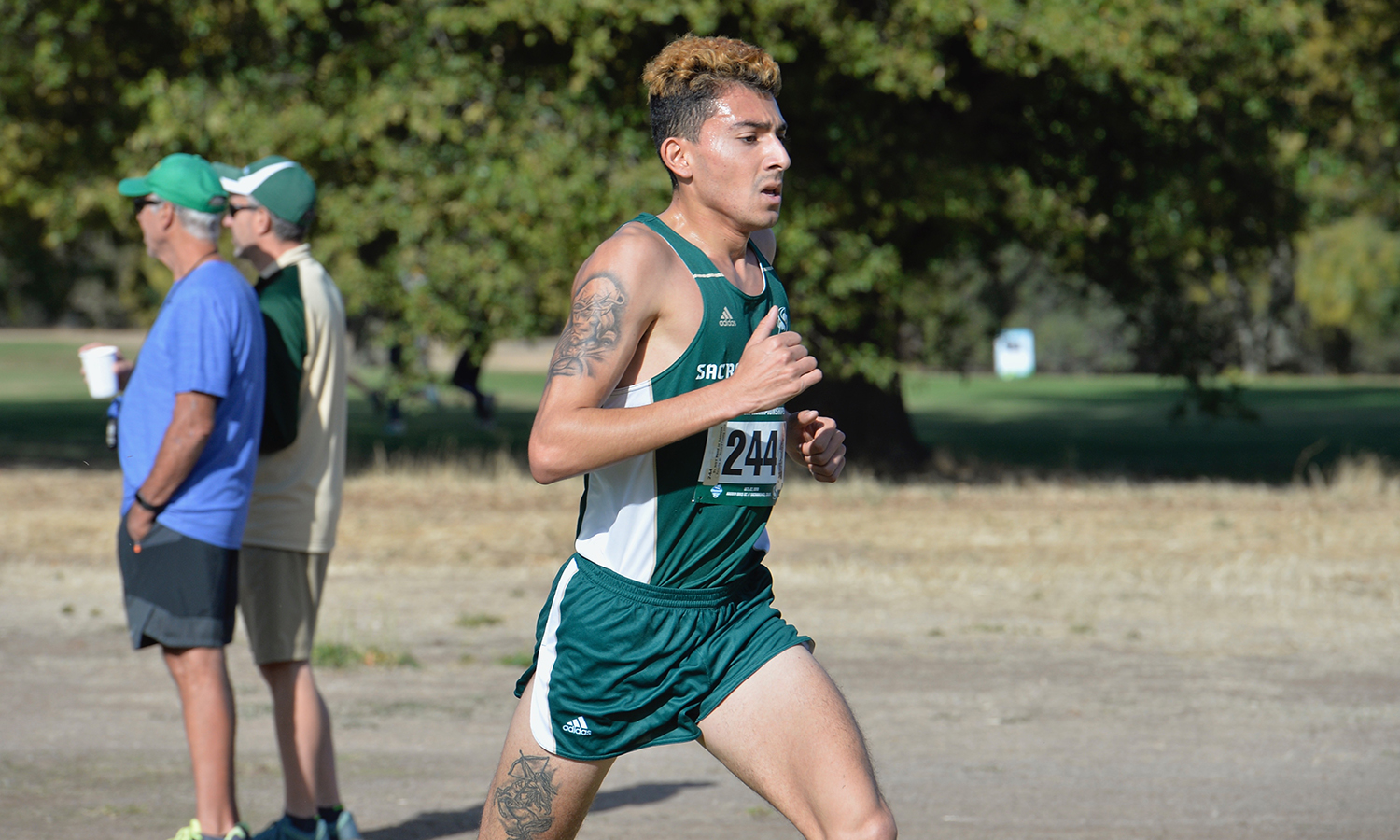 Andres Sandoval, Men's Cross Country