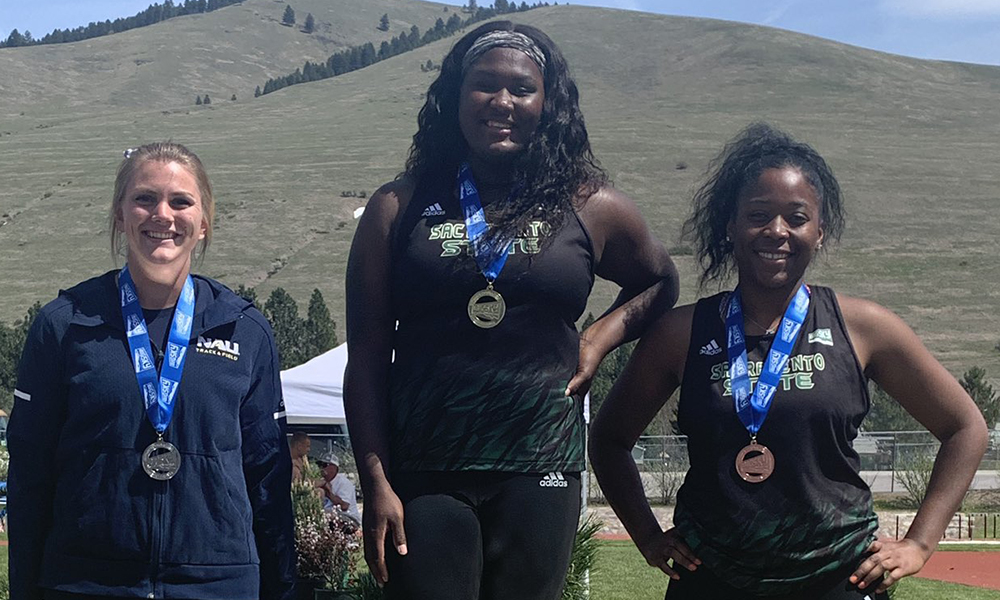 JONES REPEATS AS SHOT PUT CHAMPION AT BIG SKY OUTDOORS