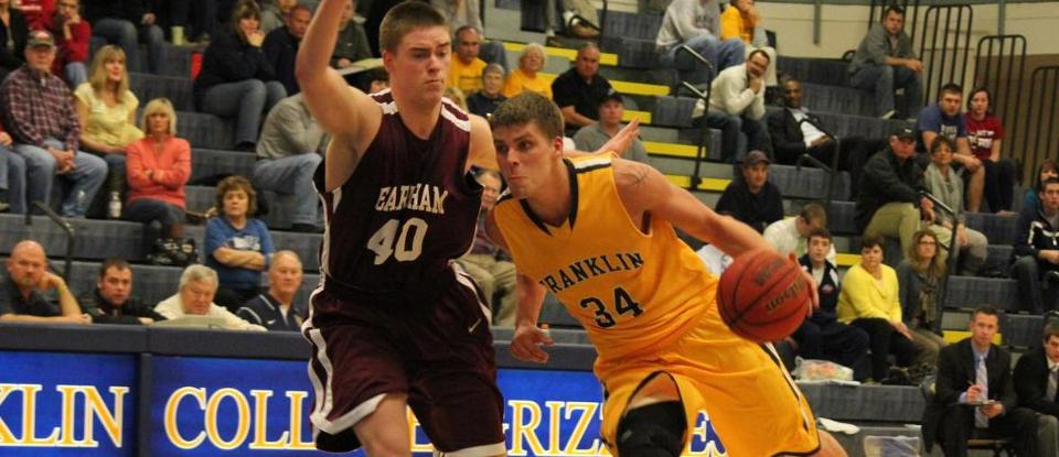 Men's Basketball Loses HCAC Home Opener to Hot-Shooting MSJ