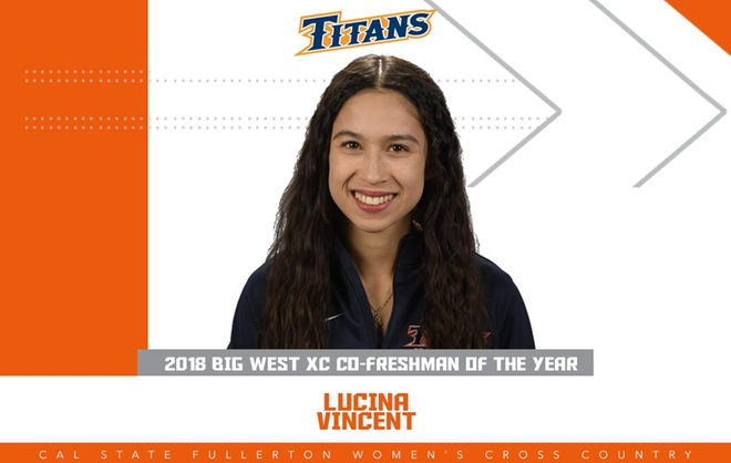 Vincent Named Big West Co-Freshman of the Year