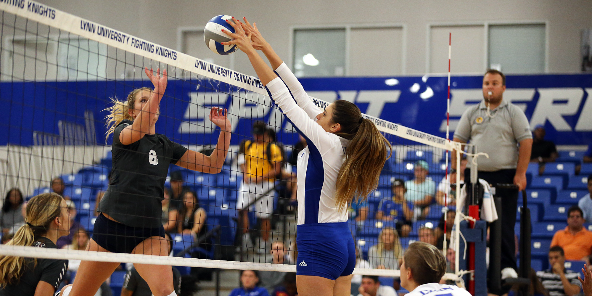 Volleyball Sunk at No. 4 Sailfish in SSC Opener