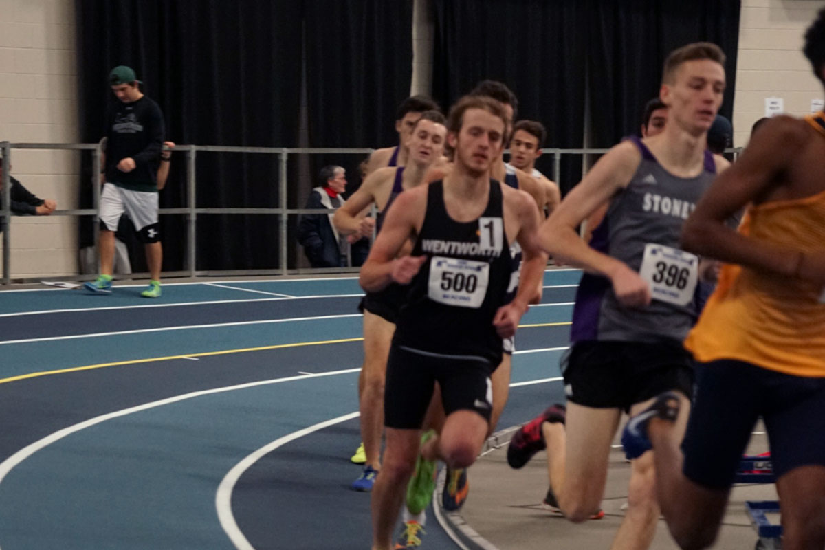 Records Fall as Indoor Track Competes at BU Last Chance Meet