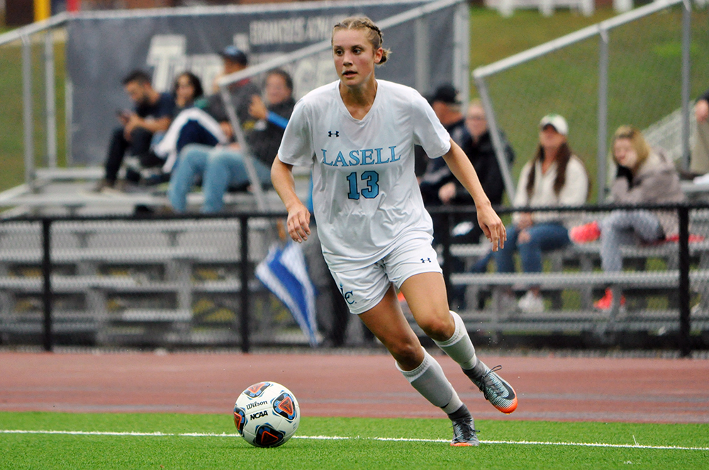 Lasell Women's Soccer wins GNAC opener over Colby-Sawyer