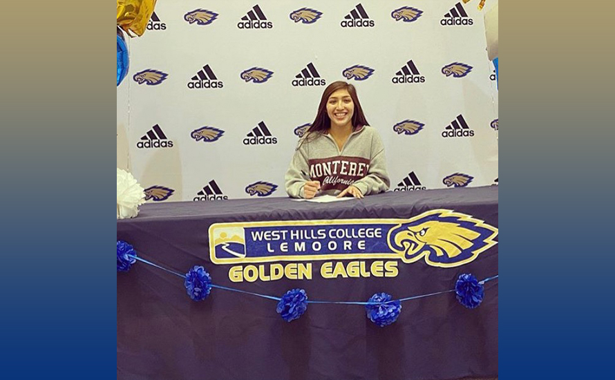 Falcon signs with Cal State Monterey Bay