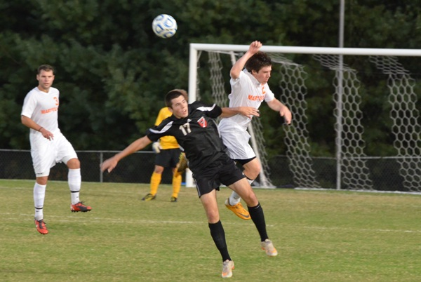 Men's Soccer: Second half goals carry Maryville past Panthers 2-0