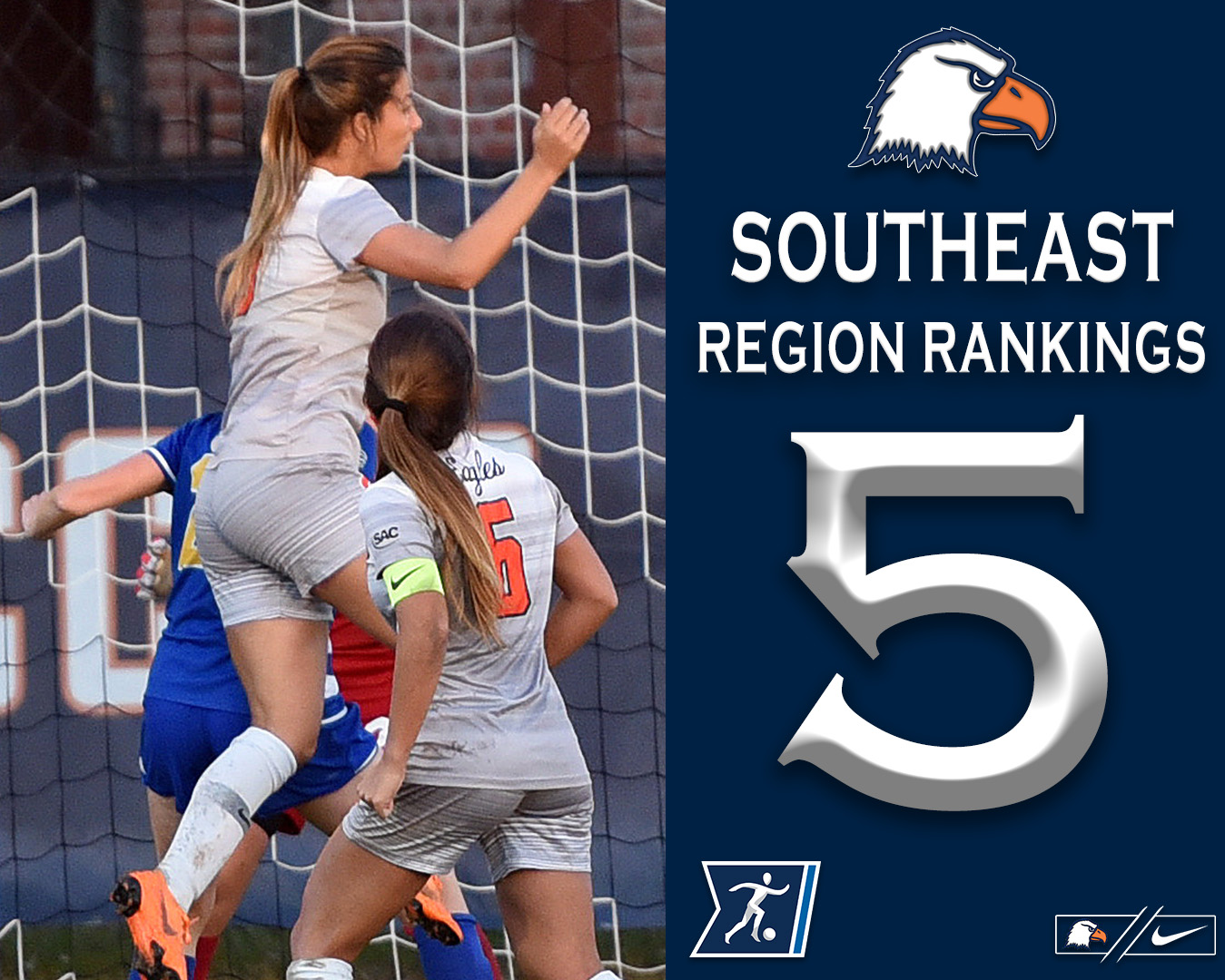 No. 20 Eagles vault one spot in latest NCAA region rankings