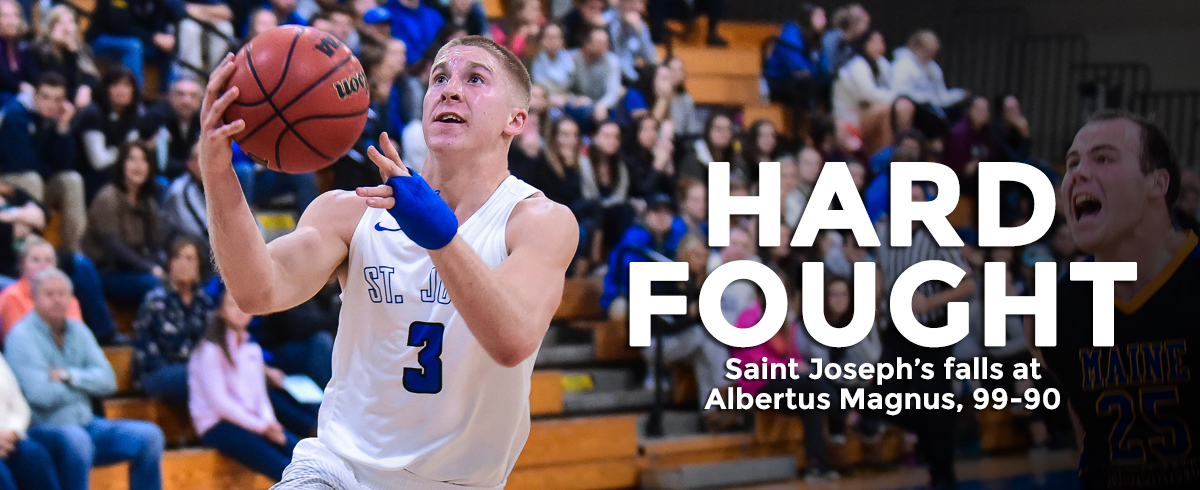 Saint Joseph's Falls Short at Albertus, 99-90