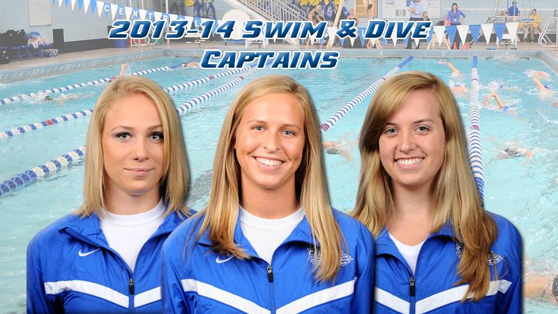 Swimming and Diving Announces Captains
