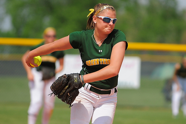 Brehm breaks career strikeout record