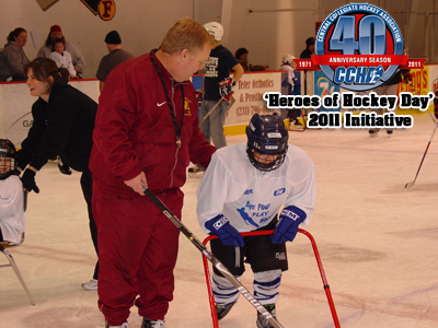 CCHA Announces 'Heroes of Hockey Day' Initiative