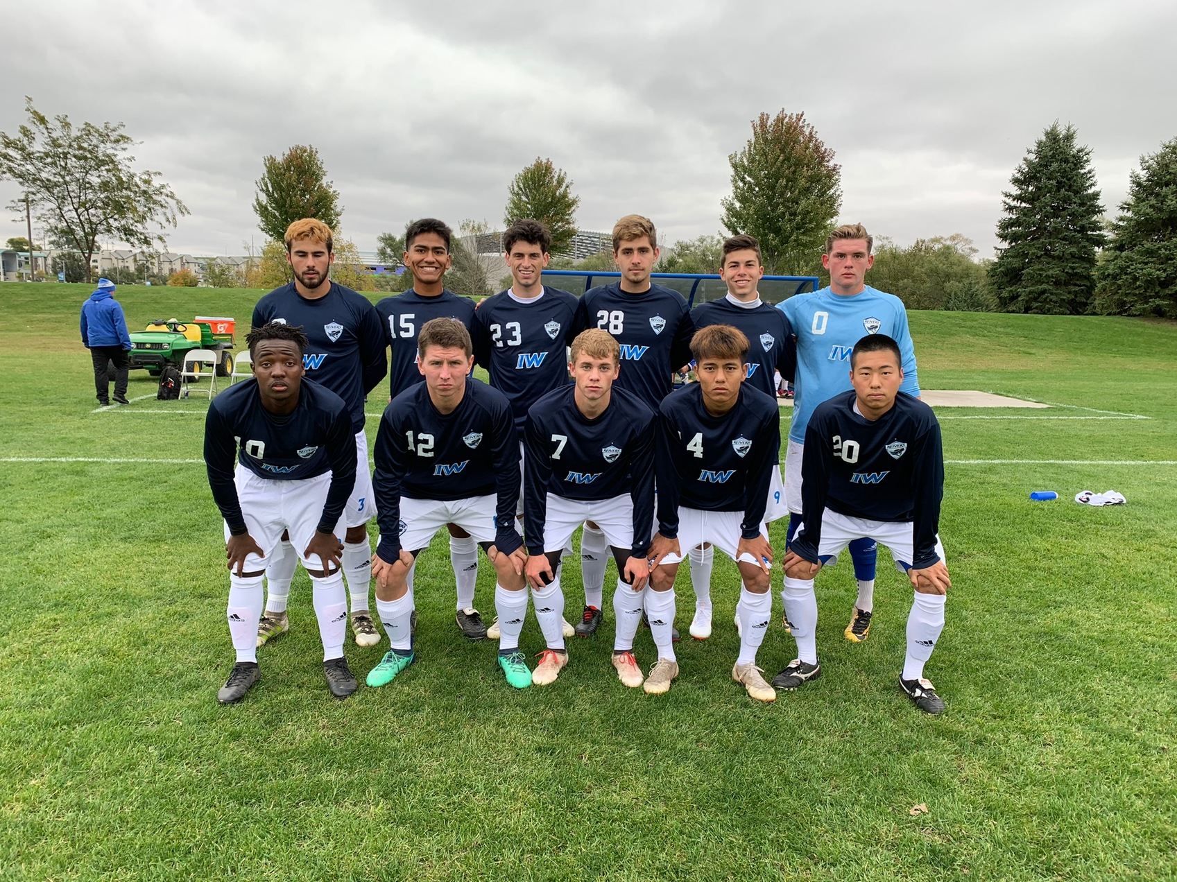 Reiver men's soccer gets first win at Reiver Sports Complex