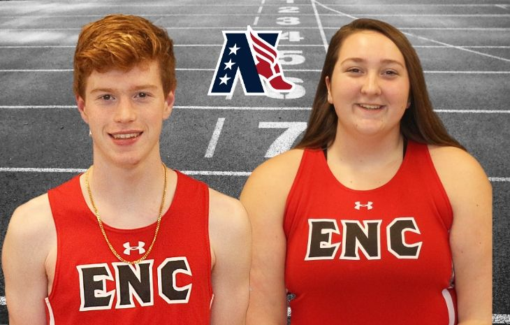 Robert Gorman, Rachel Smith Named to NECC Track & Field Del Malloy Sportsmanship Team