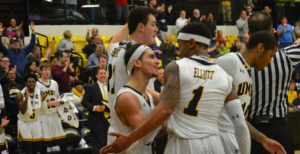 Men's Basketball to Fight for #AEPlayoffs Home Game in Regular Season Finale at UNH