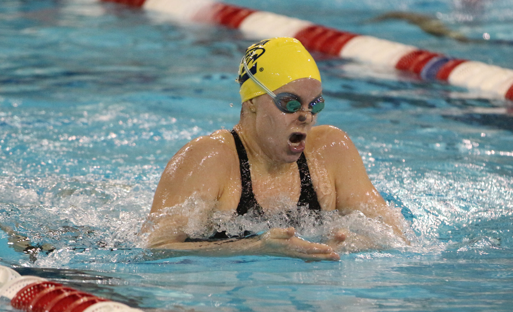 Women's Swimming & Diving Wins Home Invitational Behind Four More Event Wins