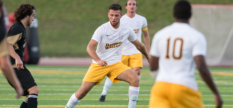 Sophomore Attila Nagy scored the overtime game-winner in BW's 2-1 OAC win against Mount Union