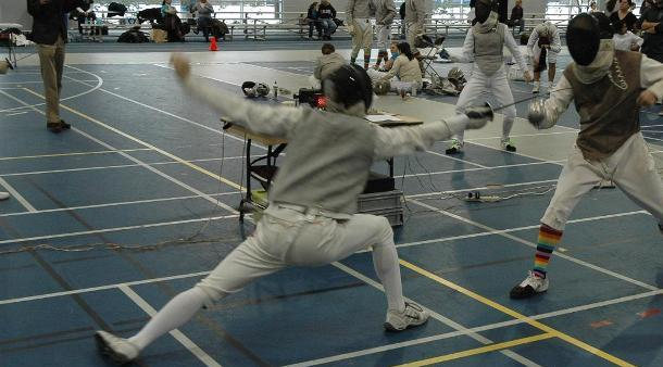 Fencing Competes At Ohio State Duals