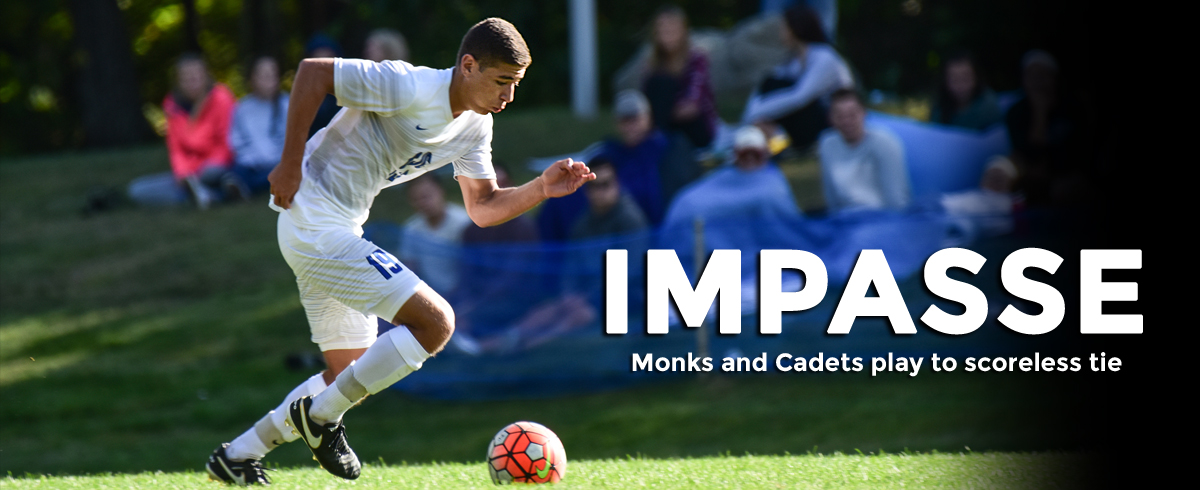 Monks & Cadets Play to Scoreless Draw