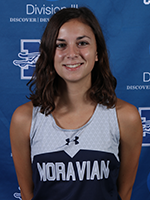 Women's Co Rookie of the Year - Natalie Stabilito, Moravian