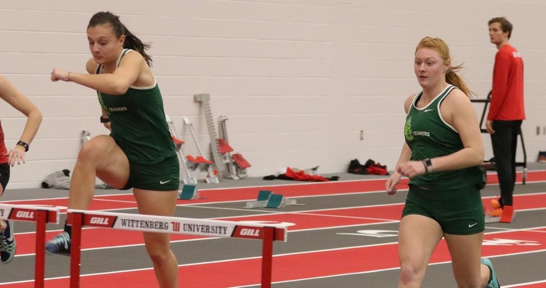 Women's Track & Field Opens Indoor Season with a Dozen Top Three Finishes at Wittenberg