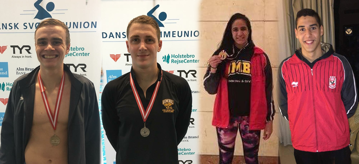 Spring Update: Four Swimmers Make Waves in International Competition
