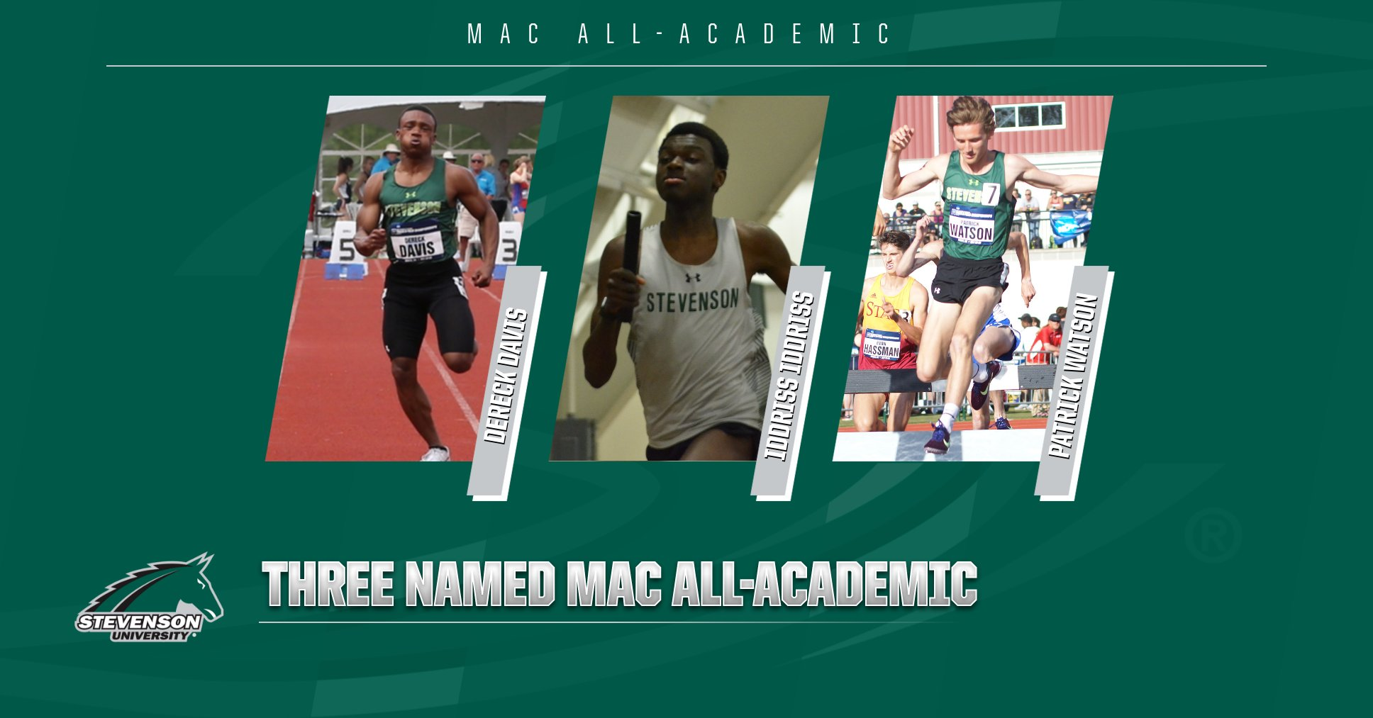 Men's Outdoor Track Garners Three Academic All-MAC Selections