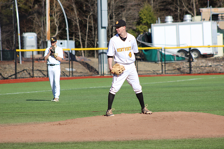 Baseball Edged Twice at Endicott