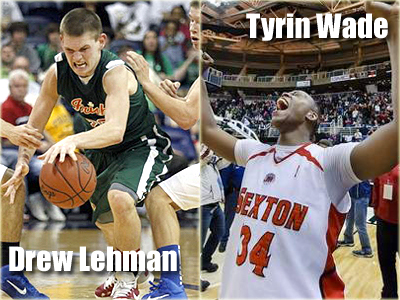 Pictured are Drew Lehman (left) and Tyrin Wade (right).  Photos are courtesy of Lansing State Journal (www.lsj.com) and Toledo Blade (www.toledoblade.com).