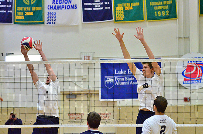 SUNY Poly Edges Men's Volleyball