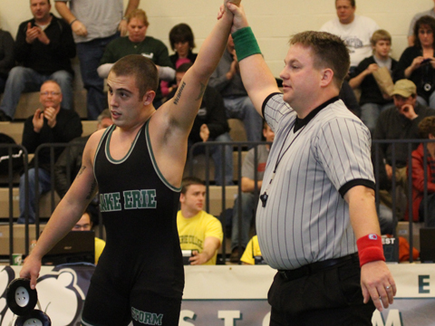 Grapplers Take Two at New Kensington Dual