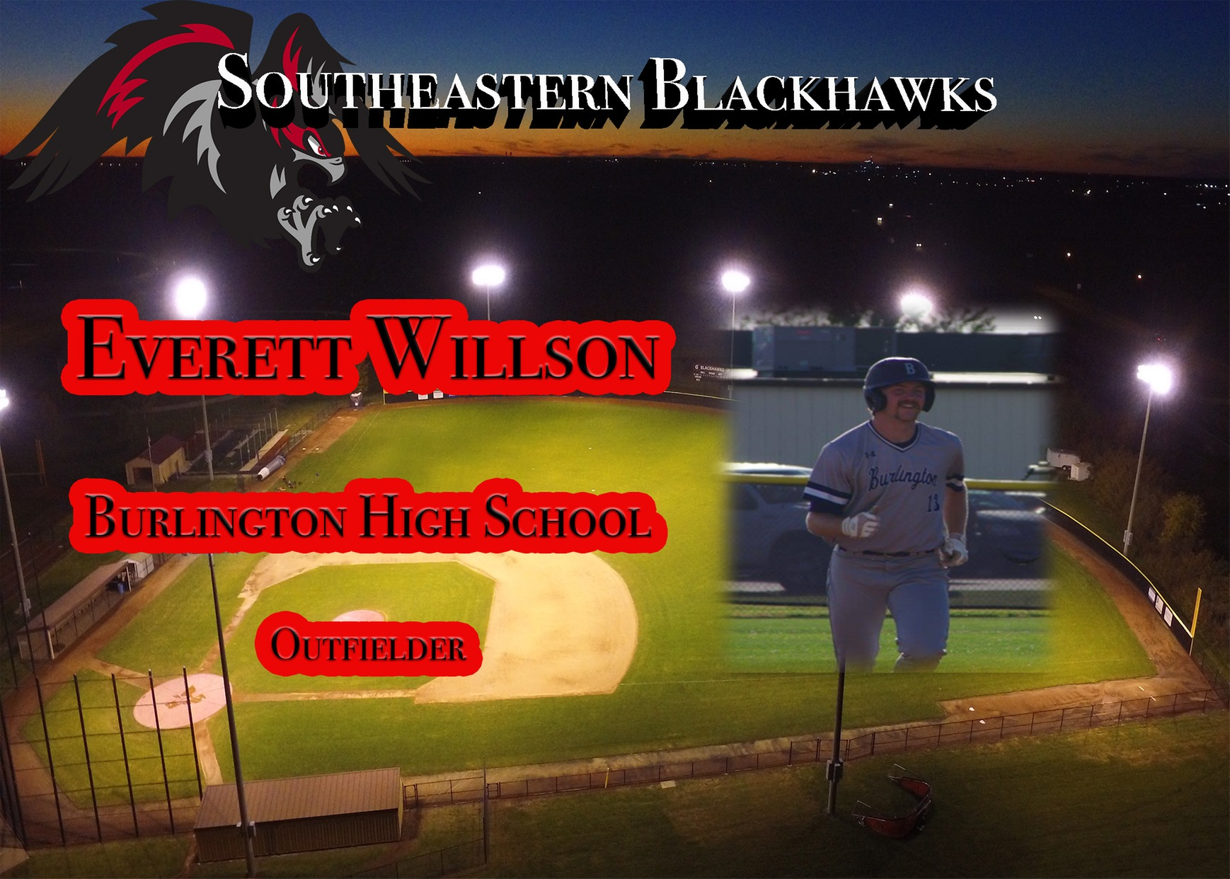 Willson to Play for SCC Baseball